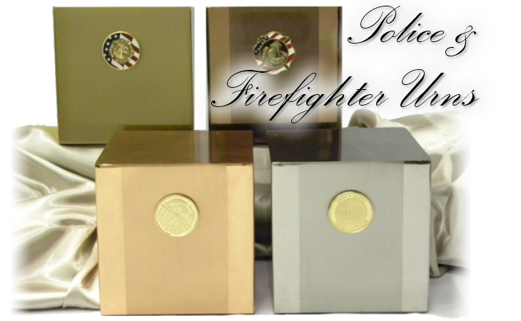 Police & Firefighter Urns